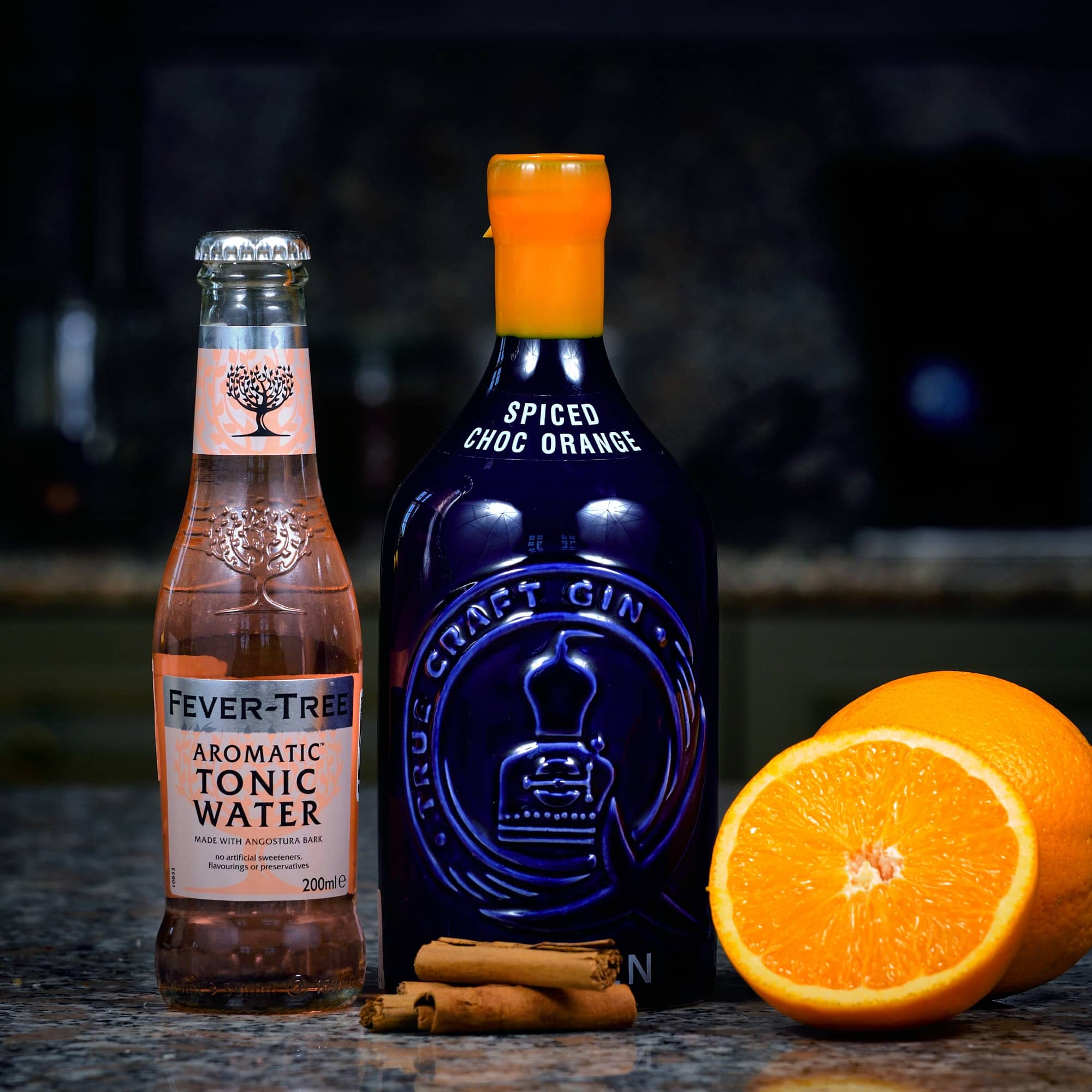 Mcqueens Spiced Chocolate Orange Gin